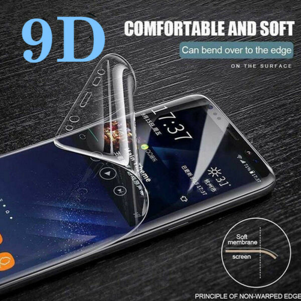 Full Cover Hydrogel Film Screen Protector Soft New For OnePlus 5 5T 6 6T 7 7 Pro