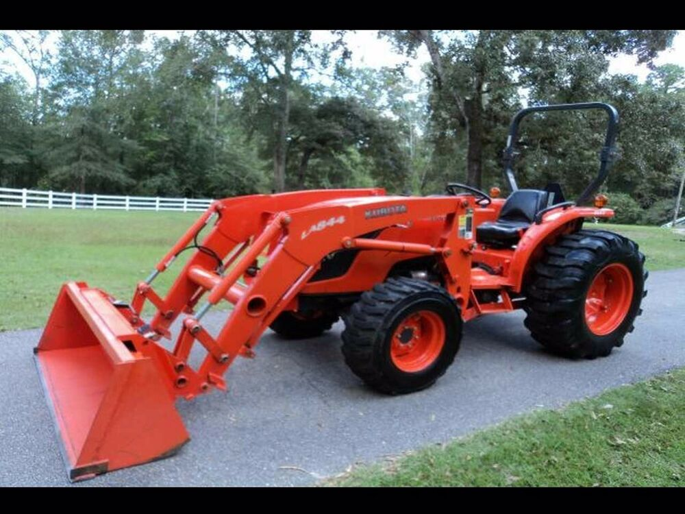 details about kubota mx5100 & la844 loader parts manuals -400pg for tractor  service & repair