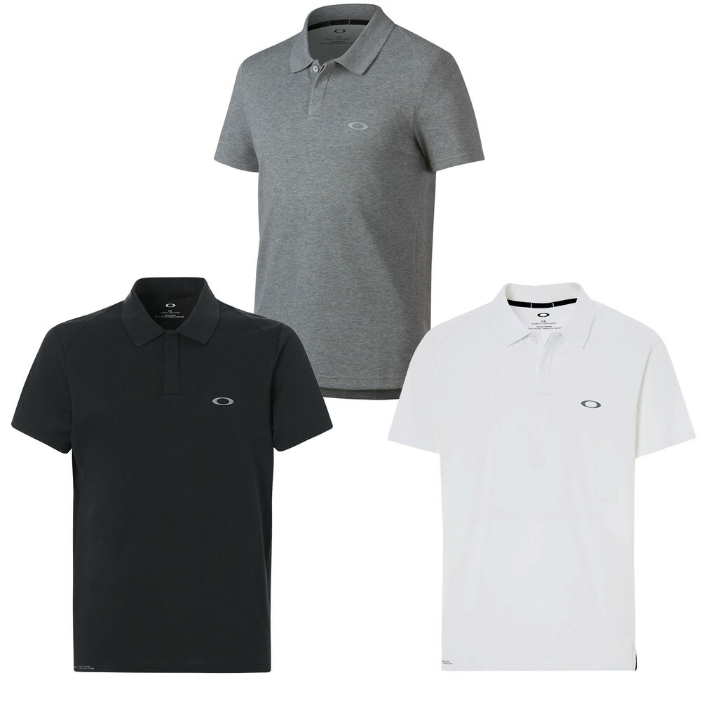 f31b0be0 Details about Oakley Link Short-Sleeve Polo Men's Polo Shirt short Sleeve T-Shirt  Shirt New