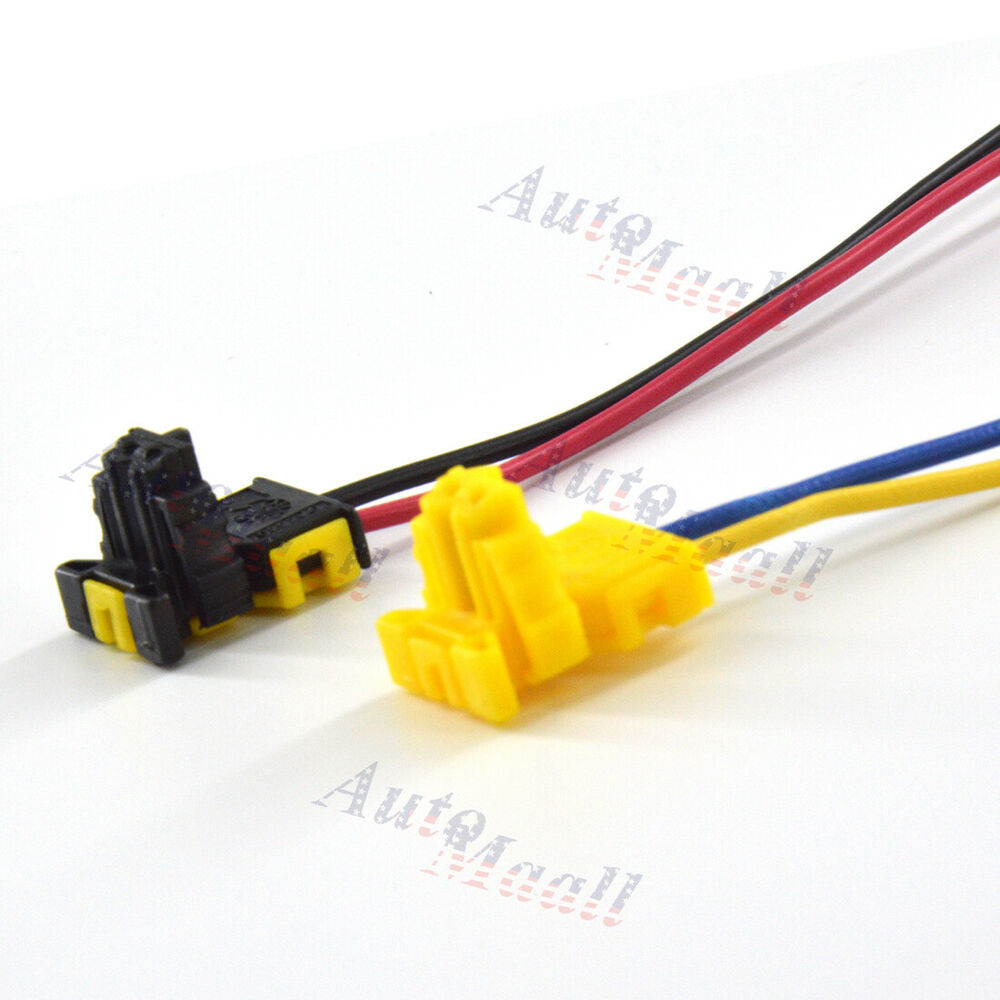 2pcs Clock Spring Plug Wire Connector For Jeep Grand