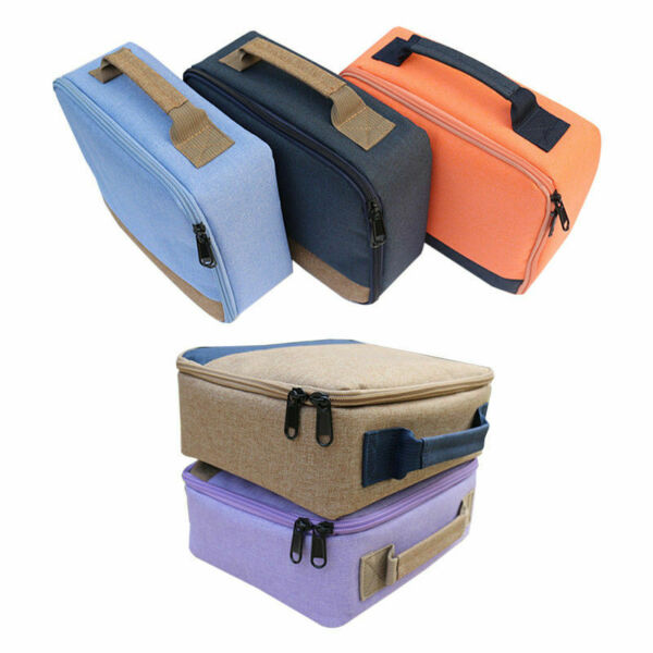 Travel Package Case Protective Storage Canvas Bag For Canon Selphy CP1200 CP1300