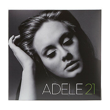 Adele CD Album (21)  Someone Like You, Rolling in the Deep, Rumour Has It, etc