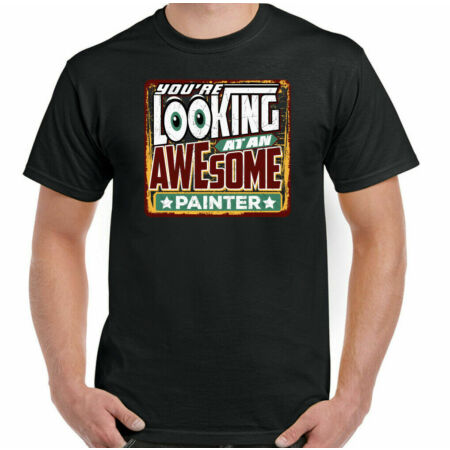 img-Painter T-Shirt Decorator Mens You're Looking at an Awesome Funny Top and Artist
