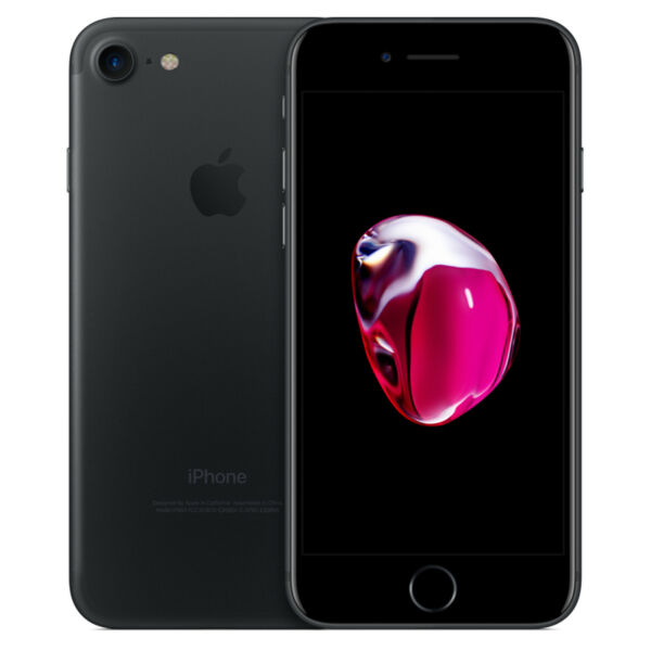 APPLE iPHONE 7 128GB RICONDIZIONATO GRADO A BLACK NERO ORIGINALE RIGENERATO USAT