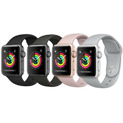 Kyпить Apple Watch Series 3 38mm / 42mm  Aluminum GPS + GSM Cellular Smartwatch  на еВаy.соm