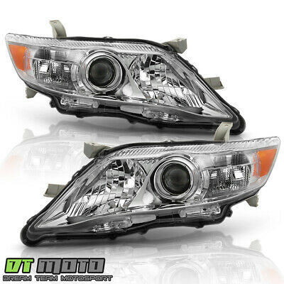 For 2010-2011 Toyota Camry OE Style Headlights Headlamps Replacement Left+Right