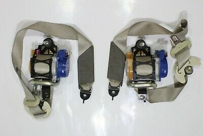 2014 2015 2016 ACURA RLX (BASE) DRIVER AND PASSENGER SEAT BELT SET - CREAM OEM