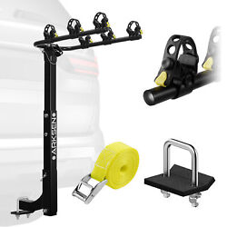 Kyпить Premium 3-Bike Carrier Rack Hitch Mount Swing Down Bicycle Rack W/ 2