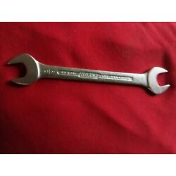 HAZET German Made SAE 5/8-11/16'' Double Open End Standard Wrench NOS