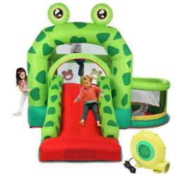 Kyпить Slide Inflatable Bounce House Castle Kids Jumper Bouncer Outdoor with Air Blower на еВаy.соm