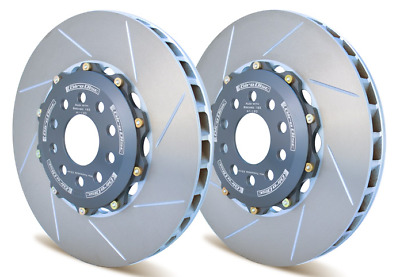 GiroDisc FRONT 2pc Rotors for 6 Piston Brembo Calipers for Audi A6/Allroad