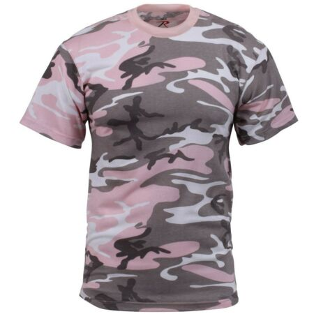 img-Camouflage T-Shirt Atténué Rose Camouflage Poly Coton Mélange rothco 8681