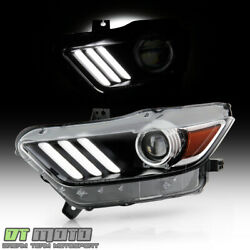 Kyпить 2015-2017 Ford Mustang HID/Xenon LED Tube Projector Headlight Headlamp - Driver на еВаy.соm