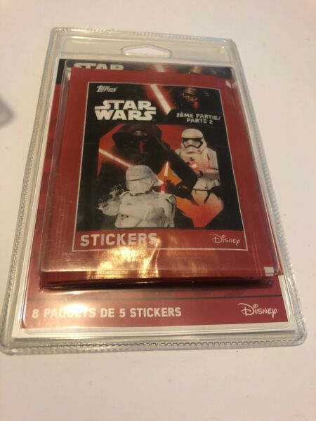 Rennes,France😍 disney star wars cartes stickers neuf 2016 collection le partie 2