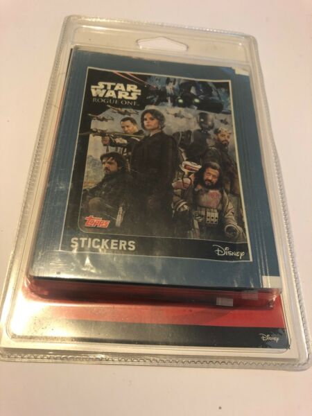 Rennes,France😍 disney star wars rogue one cartes stickers neuf 2016 collection le