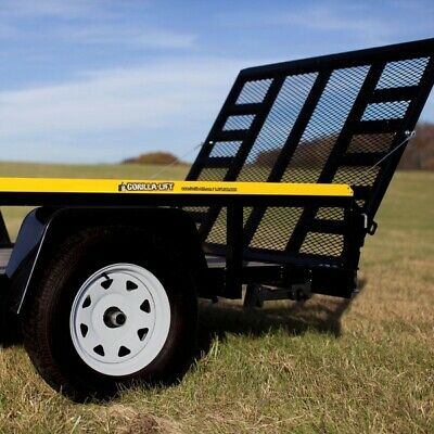 Gorilla Lift 2 Side Tailgate Utility Trailer Gate and Ramp Lift Assist System