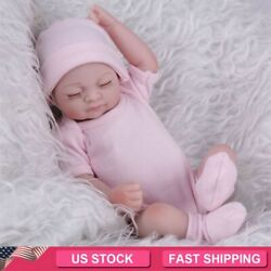 Kyпить Realistic Reborn Baby Dolls Full Body Vinyl Silicone Girl Doll Newborn Bath 11
