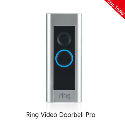Kyпить Ring Video Doorbell Pro 1080P Wi-Fi Hard Wired HD Camera with Night Vision/Alexa на еВаy.соm