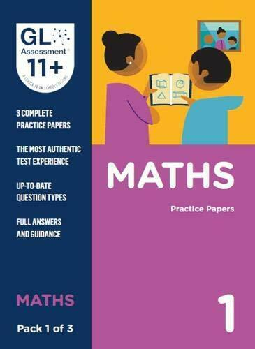 Royaume-UniRévisé Pour 2019 - Gl Assessment 11 + Practice Papers Maths Paquet 1 (