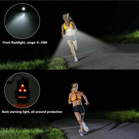 img-USB LED Running Chest Lamps Safety Warning Lights Night Torch Waterproof Q