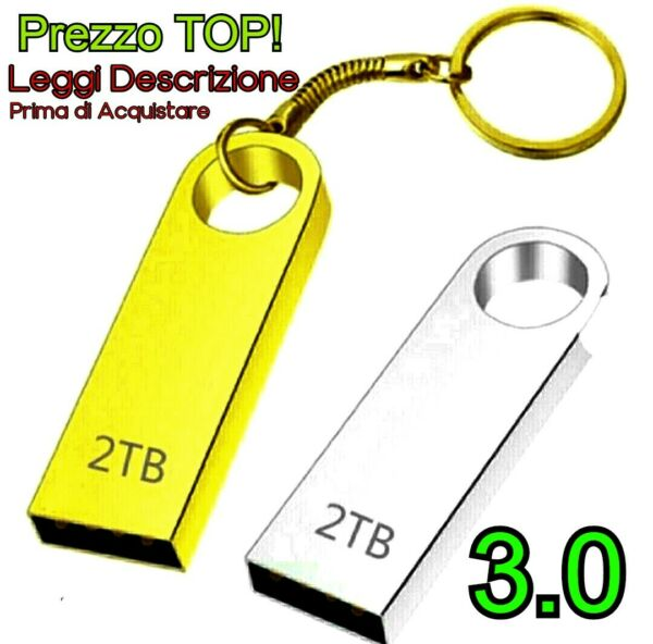 PENDRIVE Chiavetta USB 2TB ''TERA'' Flash Drive USB 3.0 , Prezzo TOP⭐