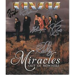 Kyпить Kansas band signed DVD cover by Full Classic Line-up RARE на еВаy.соm
