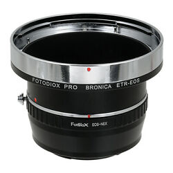 Fotodiox PRO Lens Adapter Kit Bronica ETR Lens to Sony E-Mount Camera