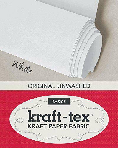 Royaume-UniKraft-Tex (T) Roll 17.4x1.5m Bianco: IN Carta Da Pacchi Fabric C&T , N