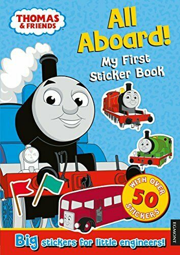 Royaume-UniThomas the Tank Engine All Aboard! My First Sticker Book by , NEW book, FREE & F