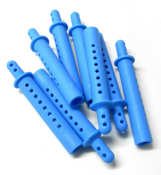 Royaume-UniHY00150B1 RC 1/8 Echelle Bleu Clair Corps Coque Embouts Supports X 4