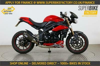 2011 11 TRIUMPH SPEED TRIPLE 1050 PART EX YOUR BIKE