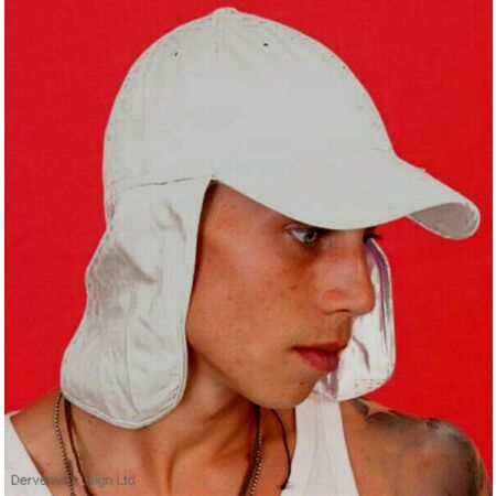 img-MENS LADIES WHITE FRENCH FOREIGN LEGION HAT CAP SPORTS UPF 40+ PROTECTION NEW