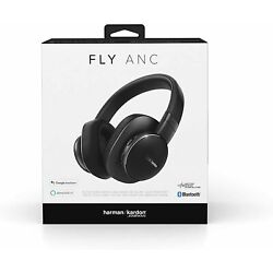 Kyпить Harman Kardon Fly Wireless Over-Ear Active Noise Cancelling Headphones - Black на еВаy.соm