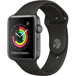 Kyпить Apple Watch Series 3 GPS, 42mm Space Gray Aluminum Case - MTF32LL/A на еВаy.соm