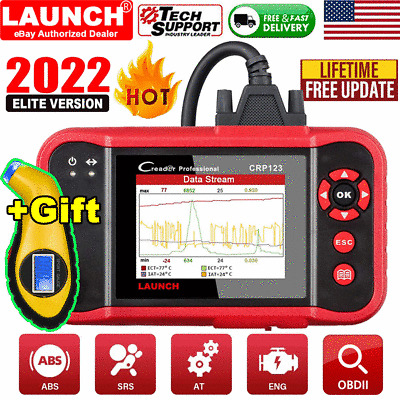2020 New LAUNCH X431 CRP123 OBD2 Diagnostic Scanner ABS SRS Fault Code Reader