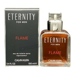 Kyпить Eternity Flame by Calvin Klein for men 3.4 oz EDT Spray New In Box AUTHENTIC на еВаy.соm