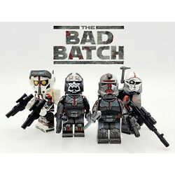 Kyпить Star Wars The Bad Batch Clone Force 99 Minifigures 4 Set - USA SELLER на еВаy.соm
