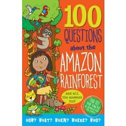 100 Questions About... Amazon Rainforest by Peter Pauper Press Inc: New