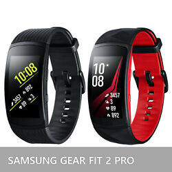 Kyпить Samsung Galaxy Gear Fit 2 Pro Fitness Tracker SM-R365 Smartwatch Black and Red на еВаy.соm