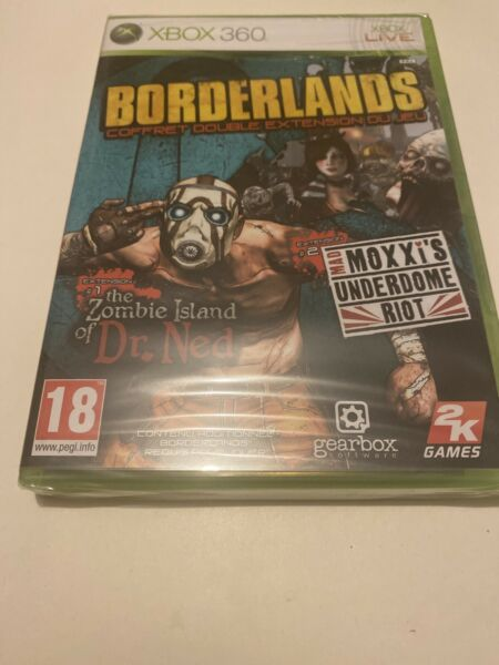 Rennes,France🥰 xbox 360 neuf blister  coffret double extension zombie island