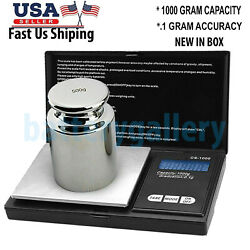 Kyпить Digital Pocket Scale 0.01 Precision Jewelry Gold Silver Coin Gram 1000gx 0.01g на еВаy.соm
