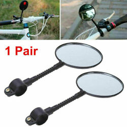 Kyпить 2x Flexible Bike Bicycle Cycling Cycle Handlebar Glass Rear View Mirror  Outdoor на еВаy.соm
