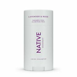 Kyпить Native Deodorant Lavender & Rose Paraben And Aluminum Free 2.65 Oz на еВаy.соm