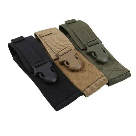 img-Flashlight Holder Cover Pouch Bag Case for LED Torch Flashlight Camo Army LC