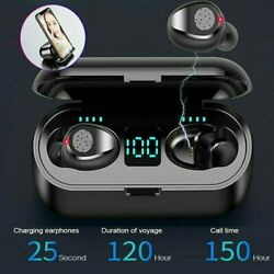 Kyпить Bluetooth 5.0 Wireless Earbuds Headphone Headset Noise Cancelling TWS Waterproof на еВаy.соm
