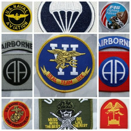 img-US ARMY NAVAL AVIATION EMBROIDERED MILITARY PATCHES