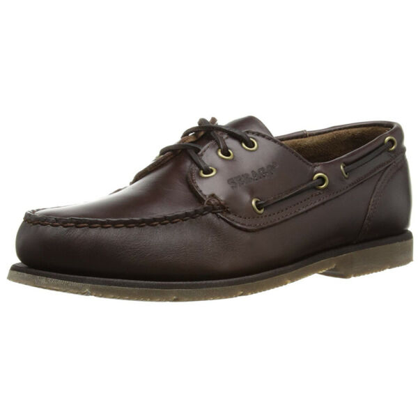 Royaume-UniSebago Foresider Hommes Marron Cuir Lacets Cuir Smart s