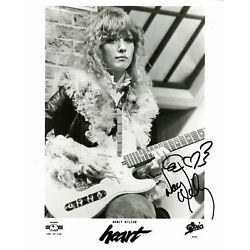 Kyпить PROMOTIONAL PHOTOGRAPH SIGNED BY NANCY WILSON 102620-NW2 на еВаy.соm