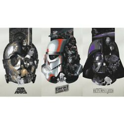 Kyпить Star Wars 4th 5th 6th Pearlescent Lithograph Poster Print Set Devon Schoeffler на еВаy.соm
