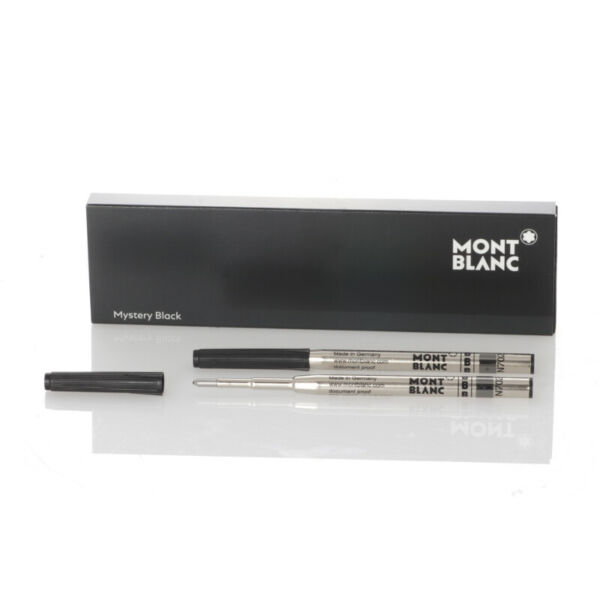 AllemagneMontblanc  pour stylo bille (B) Mystery Black, 2 pièces